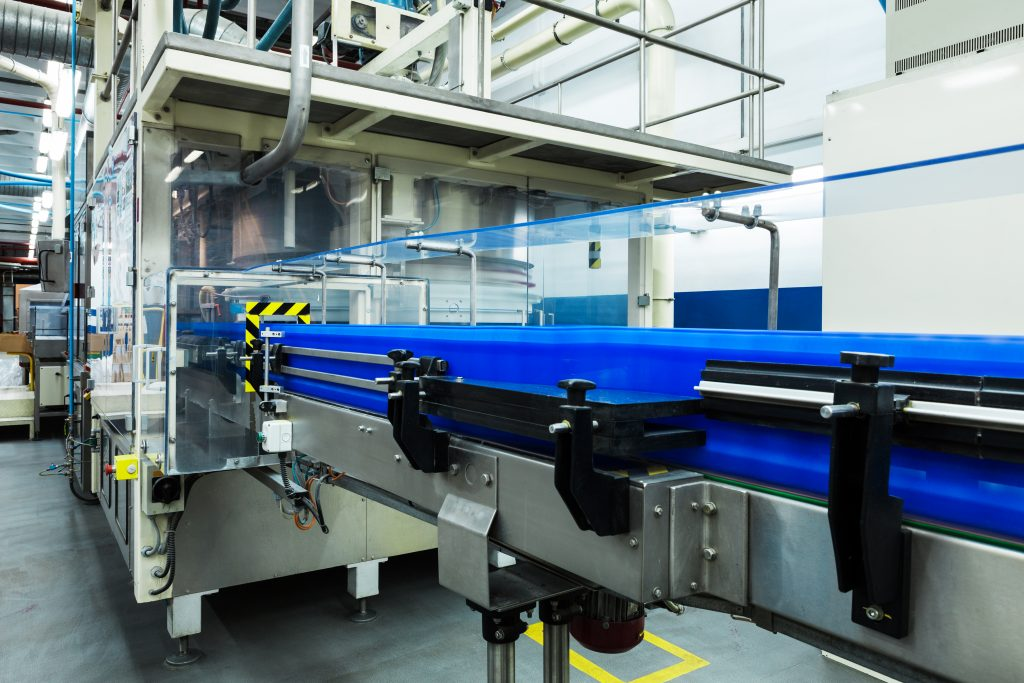 Manufacturing Plant Conveyor